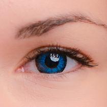 Цветные линзы EOS J211 Blue