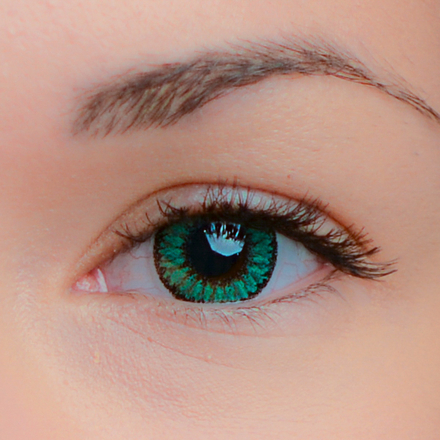 Цветные линзы EOS Fay Green